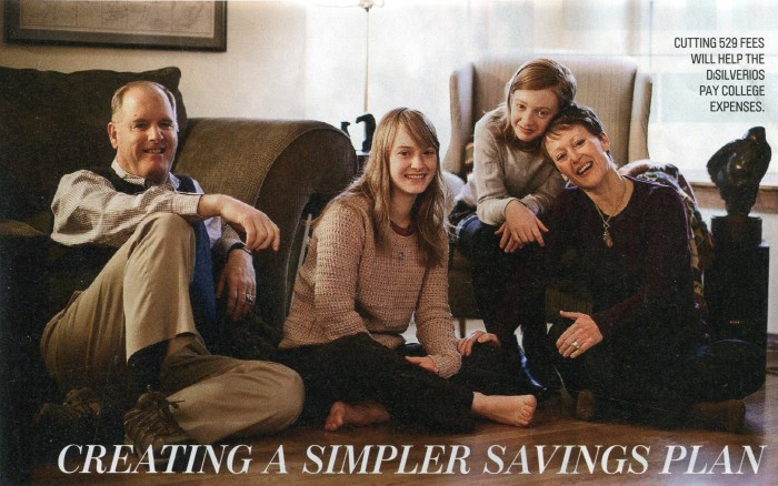 DiSilverio Family Image from Money Magazine
